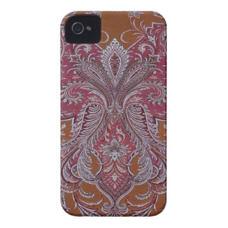 Damasco BlackberryBold 97009780 do cobre do vinho iPhone 4 Capas
