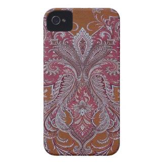 Damasco BlackberryBold 97009780 do cobre do vinho Capinhas iPhone 4