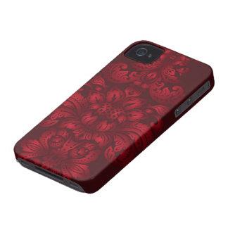 Damasco carmesim iPhone 4 capas