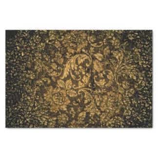 Damasco decorativo bonito papel de seda