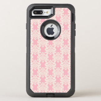 Damasco retro floral capa para iPhone 7 plus OtterBox defender
