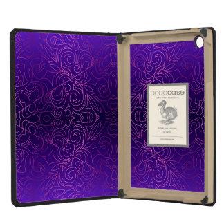 Damascos abstratos florais do iPad de Dodocase