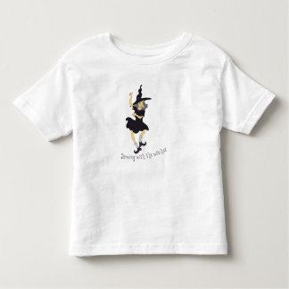 Dança com as bruxas camiseta infantil