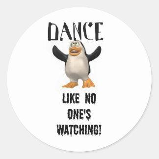 Dança… como ninguém observação! adesivo