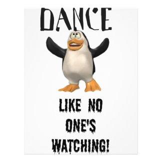 Dança… como ninguém observação! flyer 21.59 x 27.94cm