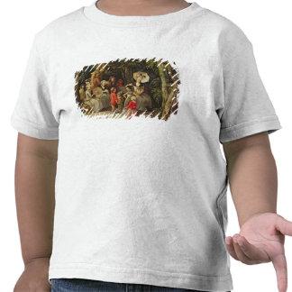 Dança das crianças camiseta