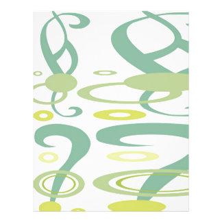 Dança de NOVINO da vida - cores claras macias Flyer 21.59 X 27.94cm