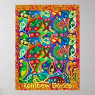 Dança do ARCO-ÍRIS Poster