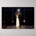 Dança do presidente Barack Obama da inauguração co Poster