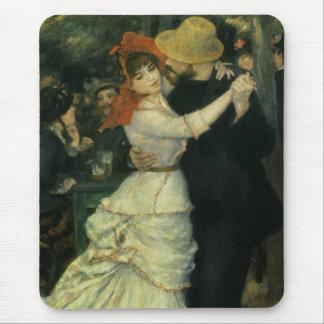 Dança em Bougival por Renoir, impressionismo do Mouse Pad