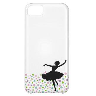 Dança entre as estrelas - branco do dançarino de capa para iPhone 5C