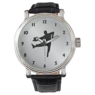 Dançarino de torneira relógio de pulso