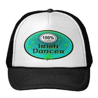 Dançarino do irlandês de 100% boné