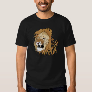 Daniel e o antro do leão camisetas