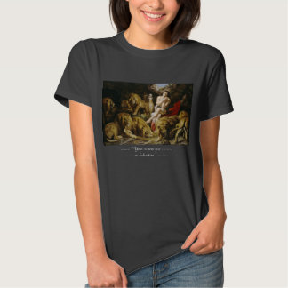 Daniel na pintura de Peter Paul Rubens do antro do T-shirts