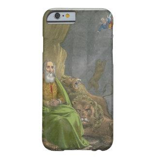 Daniel no antro dos leões, de uma bíblia impressa capa barely there para iPhone 6