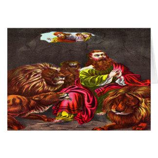 Daniel no cartão 2 do antro do ` s do leão