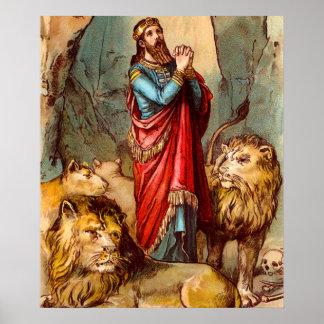 Daniel no poster do antro do ` s do leão