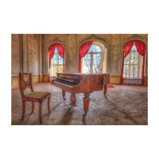 Dark Piano2 Impressão Em Tela