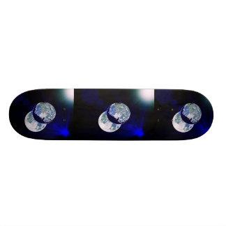 Darkside da lua shape de skate 20cm