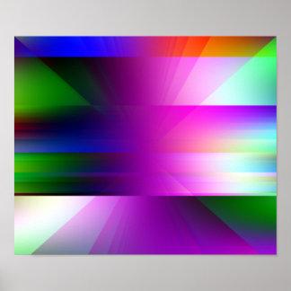 """Das """"impressão do poster da arte abstracta"""