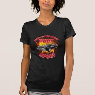 Das mulheres de Plymouth da fúria camisa 1963 de