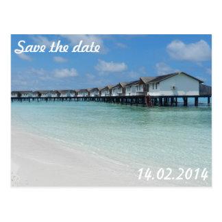 Date Save the Cartão Postal