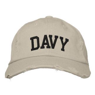 Davy bordou o chapéu