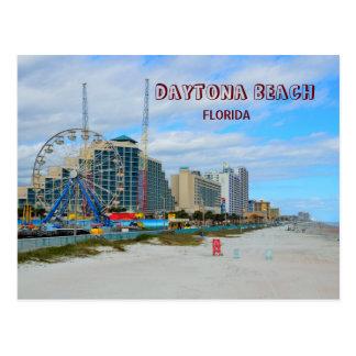 Daytona Beach famosa Florida Cartão Postal