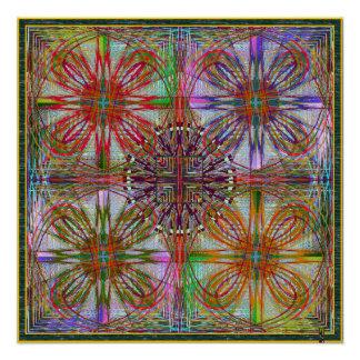 De alguma série da simetria. poster perfeito