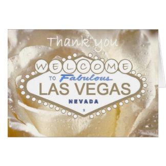 Dê boas-vindas a Las Vegas fabuloso a cartões de