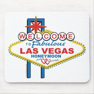 Dê boas-vindas a Las Vegas fabuloso à lua de mel Mousepad