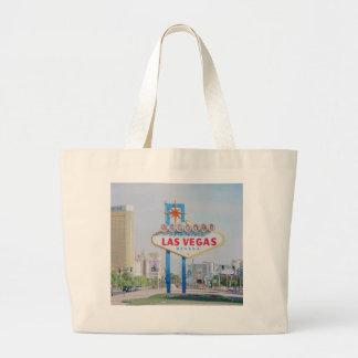 Dê boas-vindas a Las Vegas fabuloso à sacola Bolsa De Lona