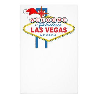 Dê boas-vindas a Las Vegas fabuloso ao Natal Papelaria