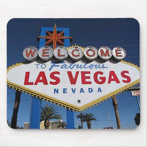 Dê boas-vindas a Las Vegas fabuloso Mousepad