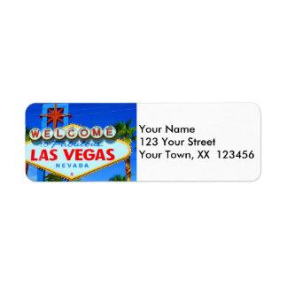 Dê boas-vindas às etiquetas de endereço do