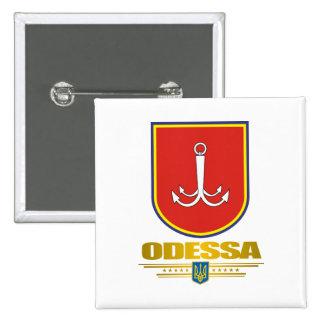 """De """"botões do COA Odessa"""" Bóton Quadrado 5.08cm"""