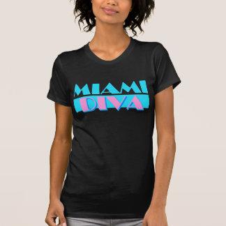 "De ""camisa da diva Miami"" Tshirt"