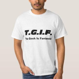 "De ""camisa este geek… "" camiseta"