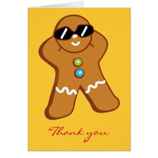 """De """"cartões de agradecimentos do homem de pão-de-e"""