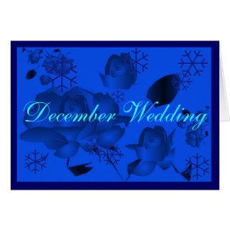 """De """"casamento que dezembro eu"""" cardo - personaliza cartão"""