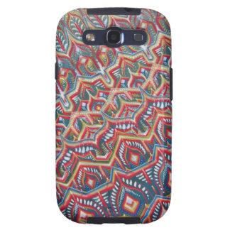 "De ""caso da aba da galáxia da parede Lesage"" Capinhas Samsung Galaxy S3"