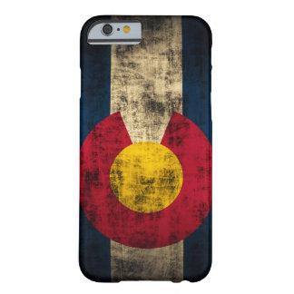 De Colorado da bandeira do Grunge do iPhone 6 do Capa Barely There Para iPhone 6