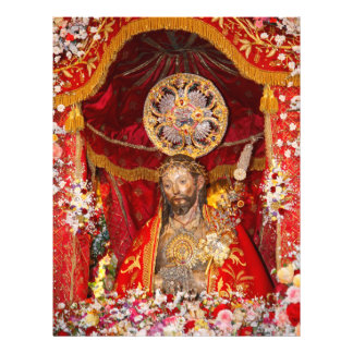 "De ""dos Milagres Senhor Santo Cristo "" Flyer 21.59 X 27.94cm"