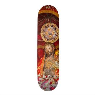"""De """"dos Milagres Senhor Santo Cristo """" Shape De Skate 20cm"""