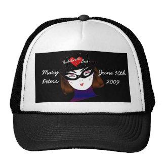 "De ""festança Bachelorette mim"" chapéu - customizáv Boné"
