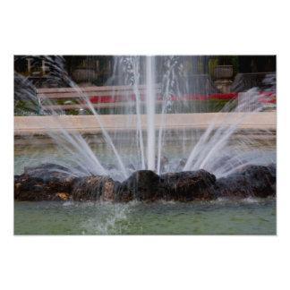 """De """"impressões da foto da fonte água"""" impressão de foto"""