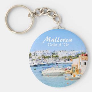 ` De Mallorca Cala d ou chaveiro da lembrança