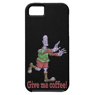 Dê-me o café! Tampa Iphone5 Capas Para iPhone 5