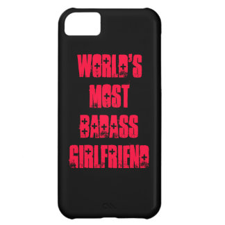 De namorada do Badass do mundo a maioria Capa Para iPhone 5C